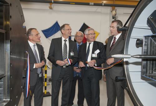 Inauguration of the ISL new trisonic Wind Tunnel