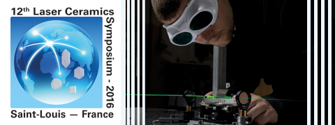 12th Laser Ceramics Symposium> November 28 - December 2,2016